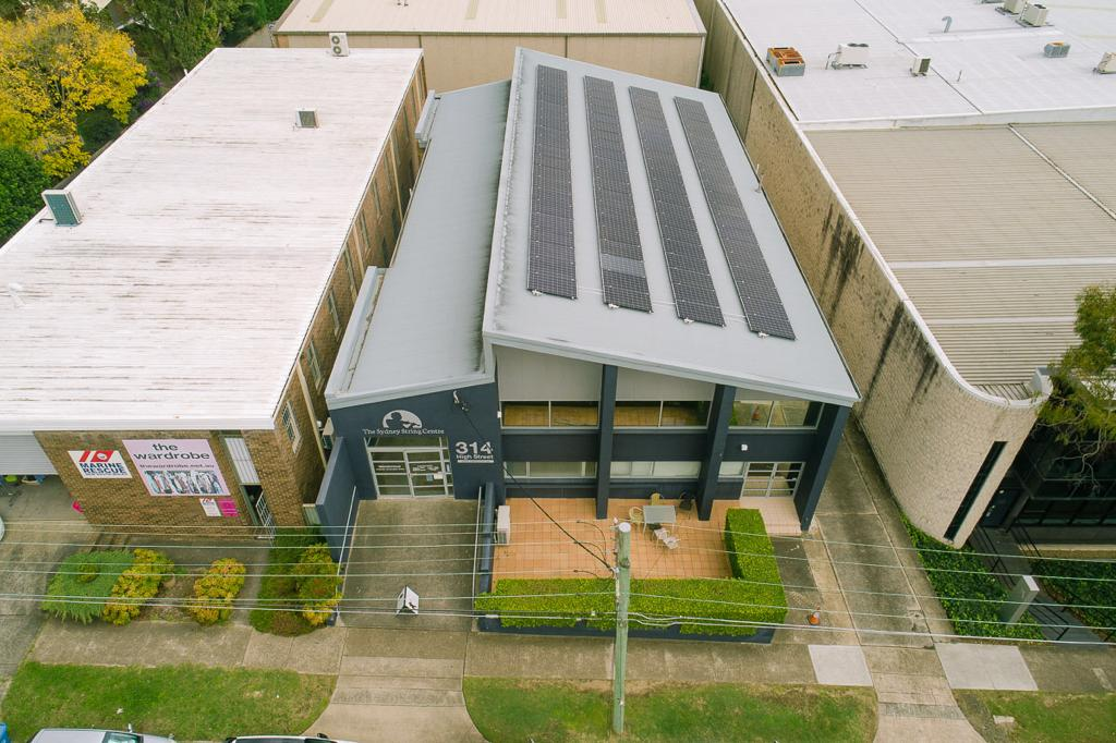 The Sydney String Centre Details Solar Energy